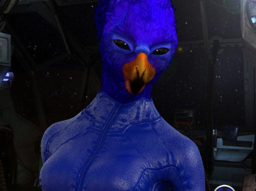 Blue Avian Female | 9/22/16
